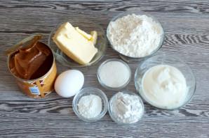 Печенье со сметаной и сгущенкой - фото шаг 1