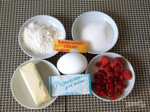 Летний ягодный пирог - фото шаг 1