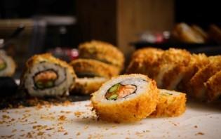 Запеченные суши - фото шаг 7