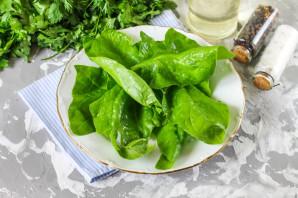 Салат с авокадо и шпинатом - фото шаг 2
