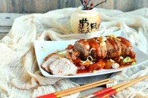 Свиная вырезка по-азиатски с кисло-сладким соусом - фото шаг 5