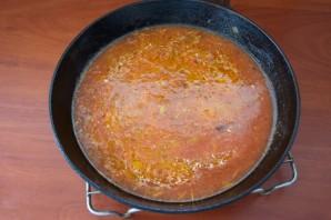 Суп с макаронами и мясом - фото шаг 4