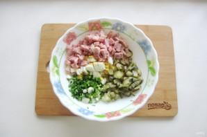 Салат с картошкой и ветчиной - фото шаг 5