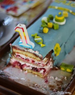 Торт на 1 год - фото шаг 11
