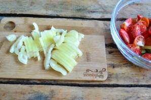 Греческий салат классический - фото шаг 4