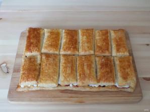 Пирожные с кремом и ягодами - фото шаг 13