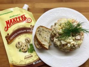 """Лучший салат """"Оливье"""" с майонезом - фото шаг 7"""