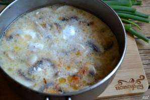 Грибной крем-суп из шампиньонов - фото шаг 6