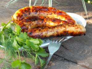 Куриные колбаски-гриль - фото шаг 7