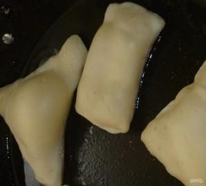 Слоеное тесто бездрожжевое на сковороде - фото шаг 6