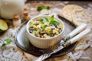 Грибной салат с сыром - фото шаг 8