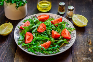 Салат с рукколой и брынзой - фото шаг 3