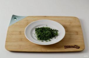 Салат из краснокочанной капусты - фото шаг 6