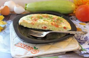 Омлет с сыром и кабачком - фото шаг 13