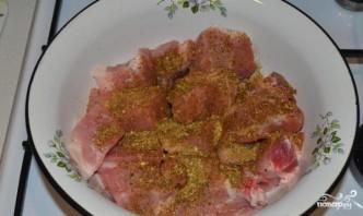 Шашлык из корейки свинины - фото шаг 2