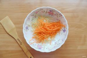 Китайский салат с крахмальной лапшой - фото шаг 3
