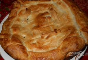 Пирог из мойвы - фото шаг 6