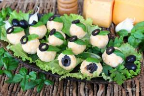 Сырные шарики с маслинами - фото шаг 7