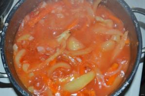 Закуска из перца и моркови на зиму - фото шаг 7