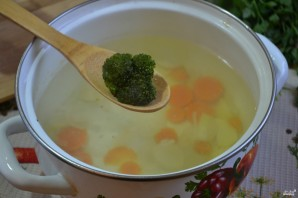Суп-пюре из брокколи и цветной капусты - фото шаг 3