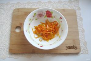 Салат с языком и морковью - фото шаг 9
