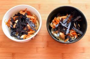 Мисо суп с курицей - фото шаг 6