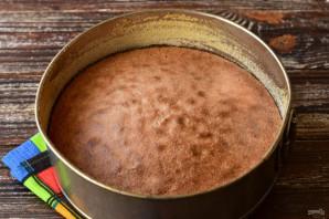 Шоколадный торт с апельсиновым кремом - фото шаг 6