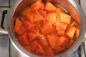 Вегетарианский суп-пюре из тыквы - фото шаг 4