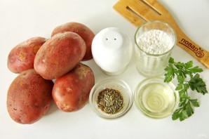 Запеченный отварной картофель в духовке - фото шаг 1