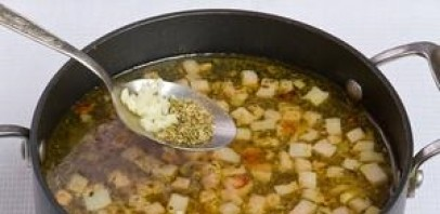 Суп в хлебе по-польски - фото шаг 8