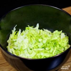 Салат из огурцов и помидоров - фото шаг 2