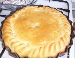 Пирог с солеными огурцами - фото шаг 4