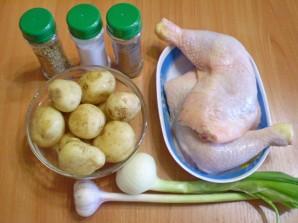 Тушеная картошка с мясом в мультиварке - фото шаг 1
