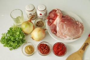 Шашлык из свинины с томатной пастой - фото шаг 1
