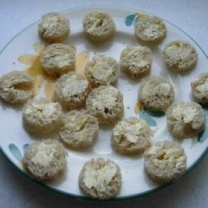 Канапе из яиц на завтрак - фото шаг 2