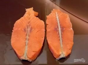 "Рыбный стейк ""Бабочка"" - фото шаг 5"