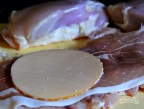 """Куриное мясо """"Кордон блю"""" - фото шаг 2"""