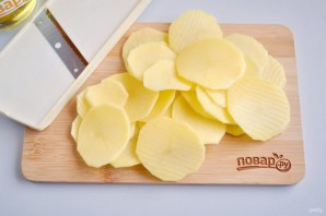 Хрустящие картофельные чипсы  - фото шаг 2