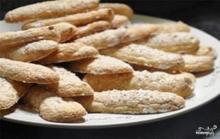 """Бисквитное печенье для """"Тирамису"""" - фото шаг 6"""