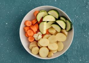 Глазированные овощи - фото шаг 2