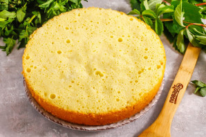 Лимонно-ягодный торт - фото шаг 6