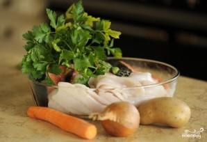 Суп из палтуса - фото шаг 1