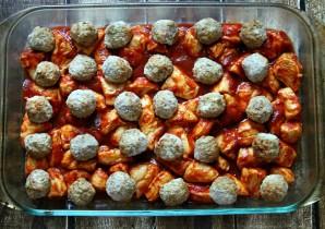 Тефтели с картошкой в духовке - фото шаг 2