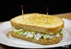 Салат с гренками - фото шаг 7