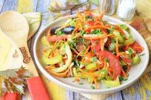 Салат с баклажанами и морковью по-корейски - фото шаг 6