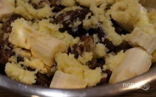 Кекс с финиками и бананом - фото шаг 1