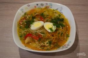 Азиатский куриный суп - фото шаг 12
