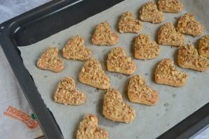 Медовое печенье с орехами - фото шаг 8