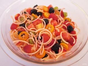 Вкусный фруктовый салат - фото шаг 8