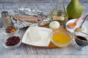 Салат с уткой и грушей - фото шаг 1